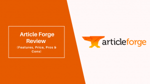 he hard work done by a single content writer will be greatly reduced by the helpful hands of Article Forge.