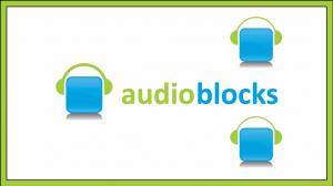 How to use an audio blog?