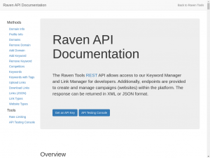 In addition to the above, Raven has a test tool for the website