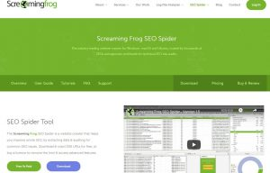 Basic features that Screaming Frog possesses