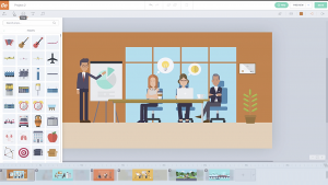 Vyond helps you create videos to meet the business needs and reach the set goals.