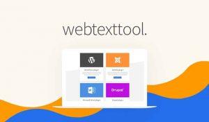 WebTextToolPress wireless controls